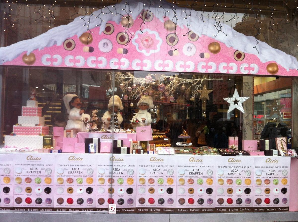 粉紅咖啡店Aida