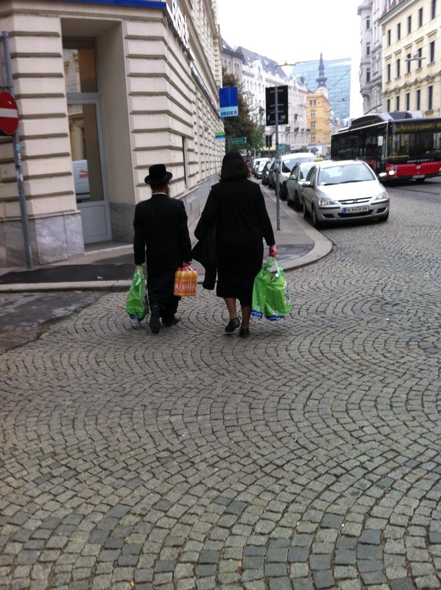 在維也納的猶太人